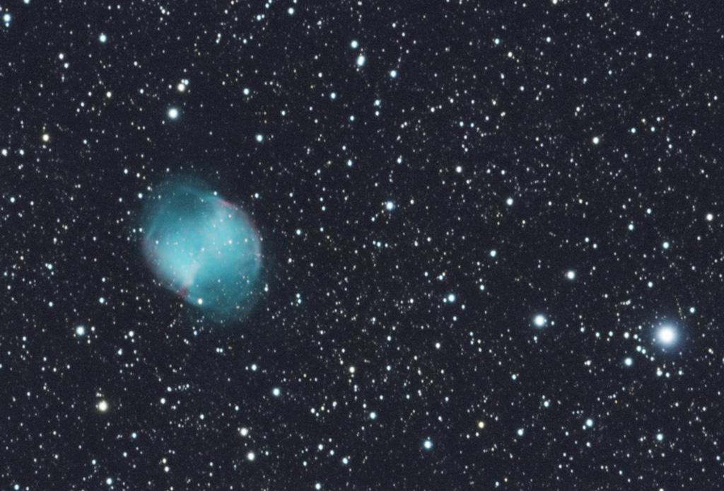 M27 et nébuleuse de l'Iris, stage Astronamur 2017 M27_230917_small_filtered